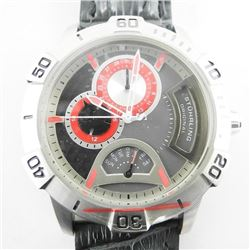 Gents 'STUHRLING' Sport Watch 'NEW' Leather Band.