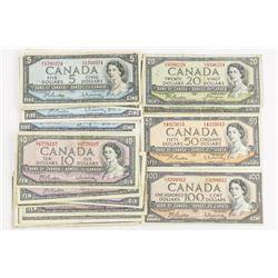 Estate Lot - Bank of Canada 1954 Mixed Notes, 360.