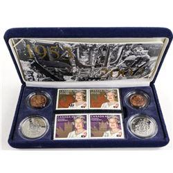 Queen Elizabeth II Coronation Stamp 1953-2003 and