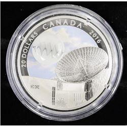 .9999 Fine Silver $20.00 Coin 'Glow in the Dark' w