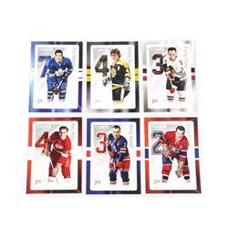 Lot (6) Original 6 Hockey Cards