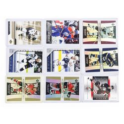 Group of (10) UD Hockey Cards, Young Guns and Star