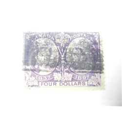 393Estate Canada Jubilee 4.00 Stamp # 64. (VF) CAT