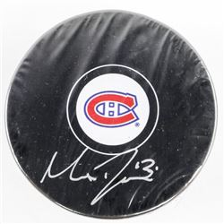 MAX DOMI - Montreal Puck Signed