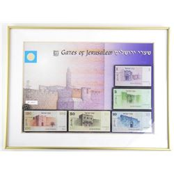 Gates of Jerusalem Banknote and Coin Collection Fr