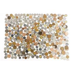 Estate Lot - Bag World Coins Mixed 2370 grams