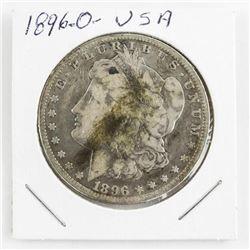 1896(O) USA Silver Dollar (MXR)
