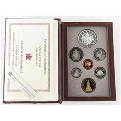 1994 RCM Proof Set 'Special Edition' 'DOG SLED' Ca