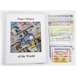 Lot (50) World Notes (50) Different Countries 'UNC