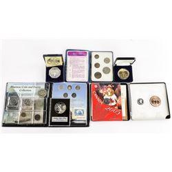 Estate Bag Lot - Mixed Coins, Tokens, Medals Inclu