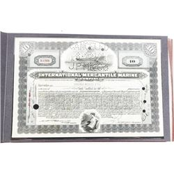 Titanic Collector Set Coins, Stamps, Stock and Cer