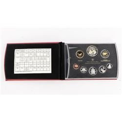 Estate RCM 2011 Proof Coin Set Silver with 24kt Go
