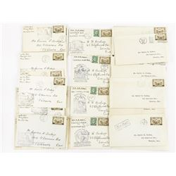 Estate Lot -AIR MAIL First Day Covers (1930s)