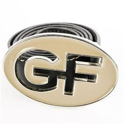 GF - 'Ferre' ITALY Leather Belt Size 90