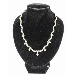 Estate Choker Length Necklace with Swarovski Eleme