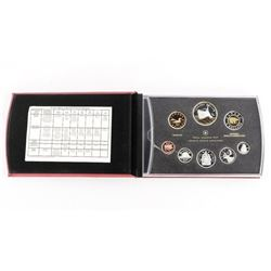 Estate RCM 2010 Proof Coin Set Silver with 24kt Go
