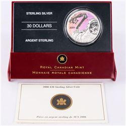 2006 925 Silver $30.00 Coin 'Canadarm' with C.O.A. (SME)