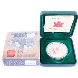 RCM 2002 Proof 925 Silver Dollar Coin (ER)