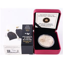 .9999 Fine Silver $20.00 Coin 'The Bald Eagle' with C.O.A. (SSE)