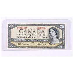 Bank of Canada 1954 Devil's Face 20.00 Note. B/C