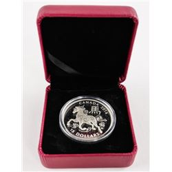 .9999 Fine Silver $15.00 Coin 2014 Year of the Hor