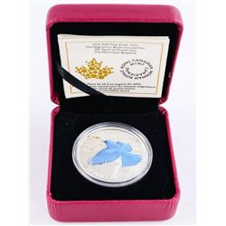 .9999 Fine Silver $20.00 Coin 'The Mountain Bluebi