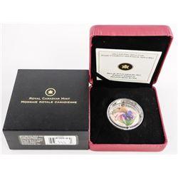 2013 .9999 Fine Silver $20.00 COin 'Purple Coneflo