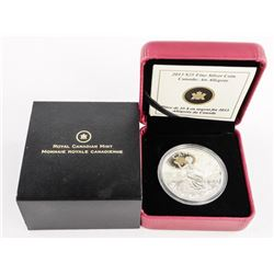 .9999 Fine Silver $25.00 Coin 'An Allegory' (AR)