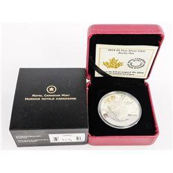 .9999 Fine Silver $5.00 Coin 'Arctic Fox' LE/C.O.A