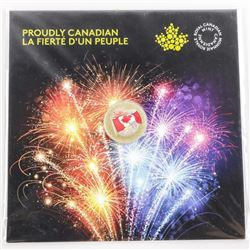 2017 .9999 Fine Silver $5.00 Coin 'Proudly Canadia