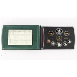 Estate RCM1873-1998 Proof Mint Set 8 Coins , Silve