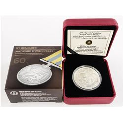 2013 Special Edition Proof Silver Dollar (IR) with