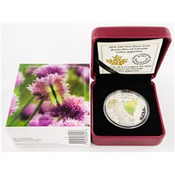 2015 .999 Fine Silver $30.00 Coin Butterflies of C