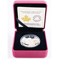 A View of Canada from Space - .9999 Fine Silver $2