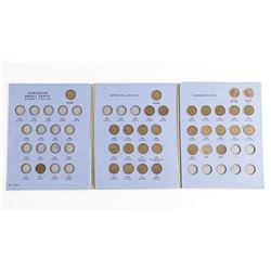 Canada Small Cent Collection - Blue book