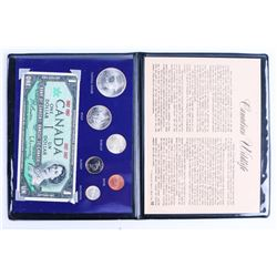 1867-1967 Centennial Coin and Note Display
