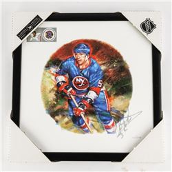 DENNIS POTVIN - All Star Canvas Signed LE/300 18x1