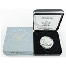 1987-1997 10th Anniversary Silver Proof Loon Dolla