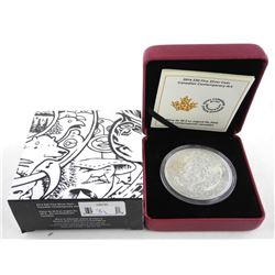 .9999 Fine Silver 30.00 Coin - Canadian Contempora