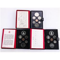 Lot (3) RCM Prestige Mint Sets: 1977-1978-1979