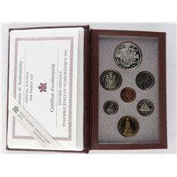 RCM 1994 Special Edition Proof Coin Set 925 Sterli