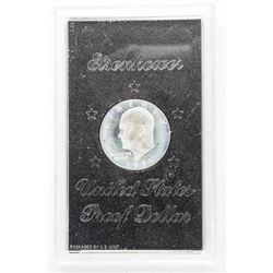 USA Proof 'Eisenhower' Dollar Case