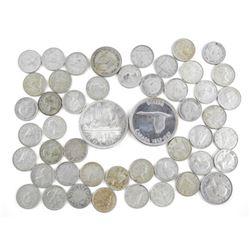 Estate Lot - Pre 1967, Etc. Silver Coins - Canada