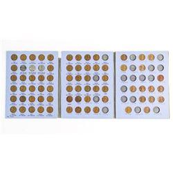 Estate Lincoln Head Cent Collection - Blue Book