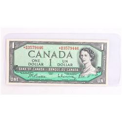 Bank of Canada 1954 *Replacement 1.00 (BM) B/R