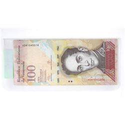 2017 Republic of Venezuela 100.00