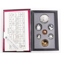 1994 RCM Proof 7 Coin Set - Leather Case