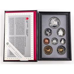 1997 RCM Proof 7 Coin Set, Hockey Dollar