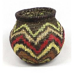 Wounaan Basket of the Darien Wilderness