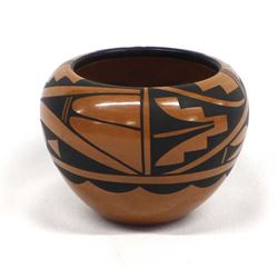 Jemez Pottery Bowl by M. H. Loretto